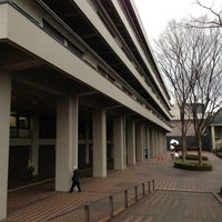 Photo taken at National Diet Library by 箭内 勝. on 3/1/2013