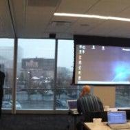 Photo taken at Panasonic Riverfront by Julius D. on 11/12/2013
