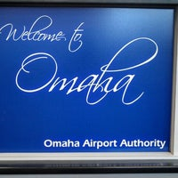 Photo taken at Omaha Eppley Airfield (OMA) by SidJacks on 5/24/2013