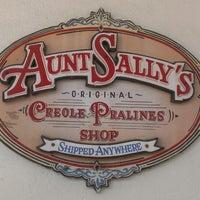 Photo taken at Aunt Sally's Pralines by Adrienne C. on 4/13/2013