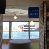 Photo taken at CrowdWorks, Inc. by Mayo M. on 2/7/2016