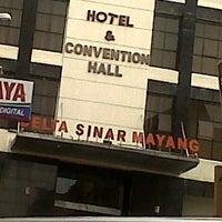 Photo taken at Hotel Delta Sinar Mayang by Amelia U. on 7/11/2013