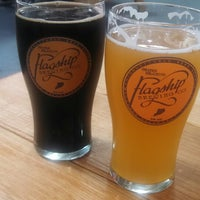 Photo taken at Flagship Brewing Co. by Christine B. on 5/17/2014