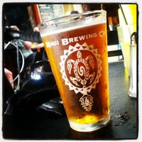 Photo taken at Maui Brewing Co. Brewpub by juan r. on 12/9/2012