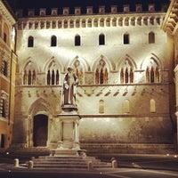 Photo taken at Monte dei Paschi di Siena by Filippo F. on 6/9/2014