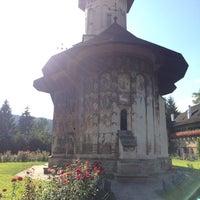Photo taken at Biserica Mânăstirii Moldovița by Andreea B. on 9/9/2015