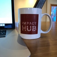 Photo taken at Impact Hub Seattle by Nicole D. on 2/6/2018