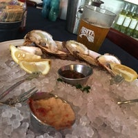 Photo taken at Amberjax Fish Market Grille at Trinity Groves by Colin S. on 6/19/2016