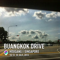 Photo taken at Buangkok Drive by Edwin P. on 7/20/2013