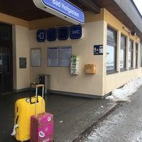Photo taken at Bahnhof Bad Hofgastein by Anna Q. on 1/13/2017