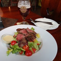 Photo taken at Steak House Liberec by Johan V. on 8/22/2016