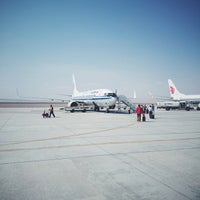 Photo taken at Dunhuang airport (DNH) by jiazi on 5/26/2015