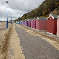 Photo taken at Bournemouth Beach by Elzette R. on 5/11/2013