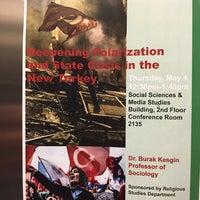 Photo taken at Social Sciences & Media Studies by Bulut Y. on 5/4/2017
