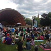 Photo taken at DCR Hatch Memorial Shell by Dennis M. on 5/18/2013