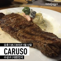 Photo taken at caruso by 영균 윤. on 1/12/2015
