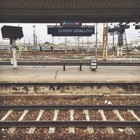 Photo taken at Gare SNCF de Clichy Levallois by Steyffi on 10/5/2013