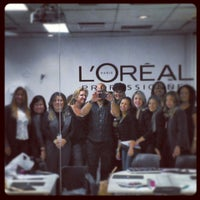 Photo taken at L'Oréal Professionnel by Rudy P. on 5/8/2013