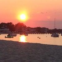 Photo taken at Ocean Gate Boardwalk by Christina S. on 8/16/2015