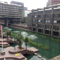Photo taken at Barbican Centre by Amy on 5/19/2013