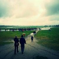Photo taken at Tempelhofer Park by Eva on 5/26/2013
