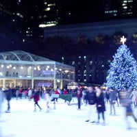 Photo taken at Bank of America Winter Village at Bryant Park by Steve on 12/5/2012