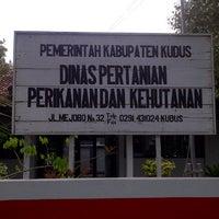Photo taken at Dinas Pertanian Perikanan & Kehutanan Kab. Kudus by Ryan L. on 10/12/2012