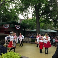 Photo taken at Bohemian Hall & Beer Garden by Daniel B. on 5/26/2013