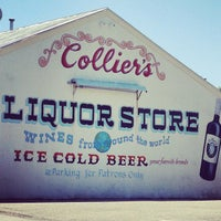 Photo taken at Colliers Liquor Store by Daniel B. on 6/20/2013