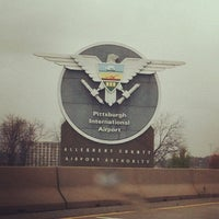 Photo taken at Pittsburgh International Airport (PIT) by Joshua S. on 10/30/2012