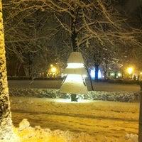 Photo taken at Jēkaba laukums by Tanusha🐈 R. on 1/10/2013
