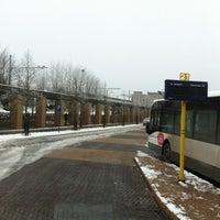 Photo taken at Bus 510 Mechelen > Heist-op-den-Berg > Westerlo > Geel by Kris V. on 1/17/2013