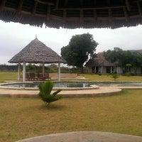 Photo taken at Diani Bay Resort by Helg on 1/13/2014