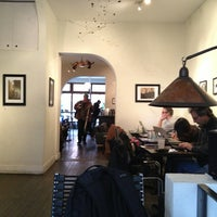 Photo taken at Chapterhouse Cafe & Gallery by Cristina J. on 3/25/2013