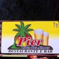 Photo taken at Pier Restaurante E Bar - Cruz Das Almas by Ricardo Zeni (. on 4/29/2013