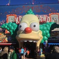 Photo taken at The Simpsons Ride by Thatyane M. on 3/21/2013