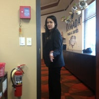 Photo taken at Ramada Plaza Fargo Hotel & Conf Center by Sam P. on 12/30/2012
