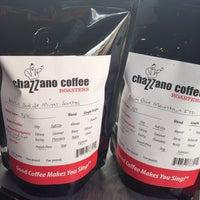 Photo taken at Chazzano Coffee Roasters by Joe H. on 5/11/2014