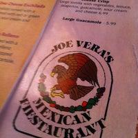 Photo taken at Joe Vera's by Brandon B. on 10/31/2012
