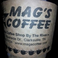 Photo taken at Mag's Coffee by Stephen B. on 1/23/2013