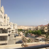 Photo taken at Ma'ale Adumim by Olga R. on 5/26/2016