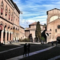 Photo taken at Piazza Santo Stefano by Maurice on 5/20/2013