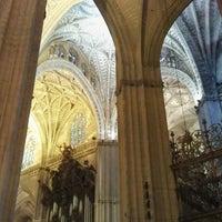Foto tomada en Catedral de Sevilla por Maurice el 2/21/2013