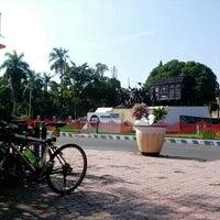 Photo taken at Alun Alun Bondowoso by Wahyu R. on 11/7/2013