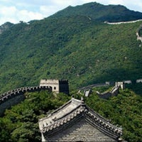 Photo taken at Great Wall at Mutianyu by Venny F. V. on 4/22/2013