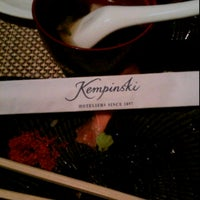 Photo taken at Kempinski Buffet hotel indonesia by Venny F. V. on 3/17/2013