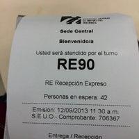 Photo taken at Sede Central Dirección General de Impuestos Internos (DGII) by Junior K. on 9/12/2013