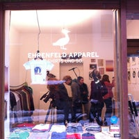 Photo taken at Ehrenfeld Apparel Flagship Store by Paul K. on 1/26/2013