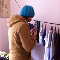 Photo taken at Ehrenfeld Apparel Flagship Store by Paul K. on 2/16/2013