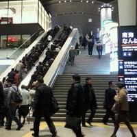 Photo taken at Nankai Namba Station (NK01) by たろたろ on 2/4/2013
